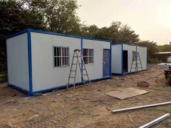 6米面开门的住人集装箱活动房