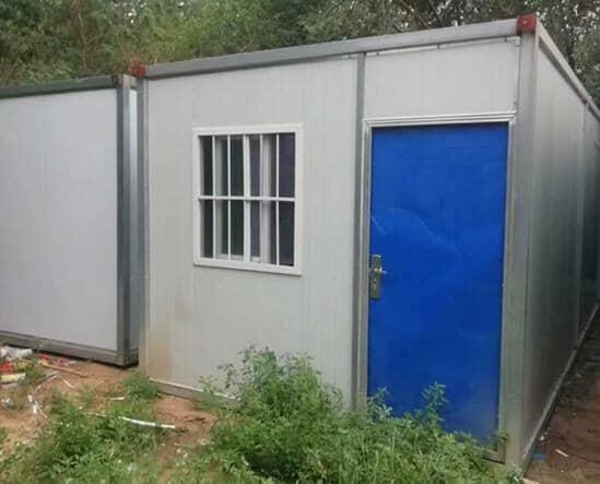 9成新住人二手集装箱房屋图