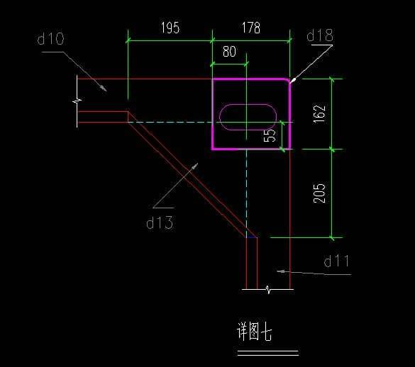 箱房框架吊角CAD设计图