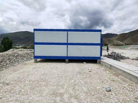 折叠集装箱房6米面图