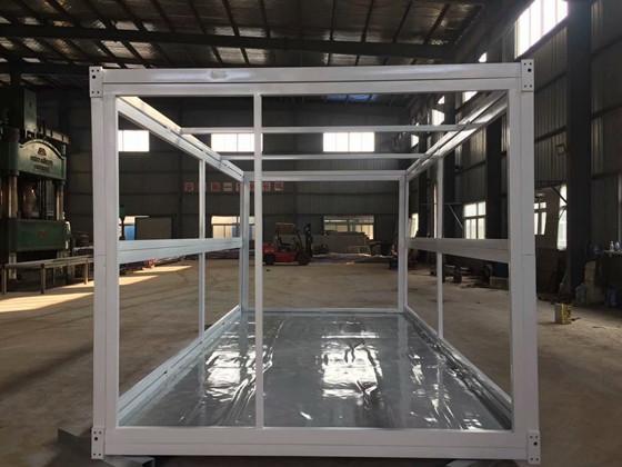 折叠式集装箱活动房钢骨架