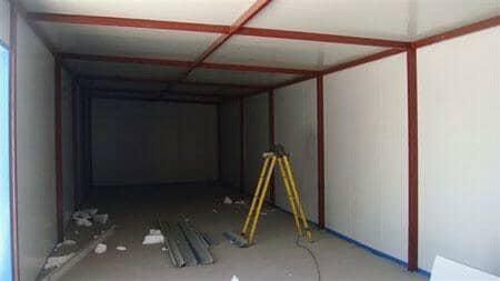 彩钢房室内图片