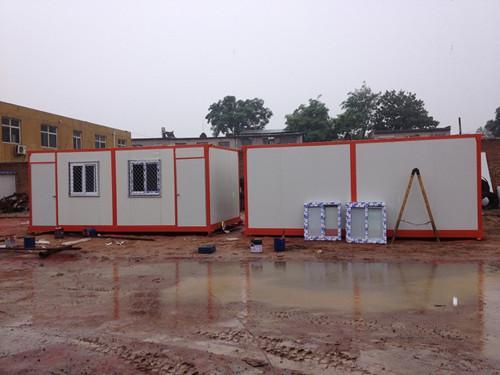 6米面开门的集装箱活动房