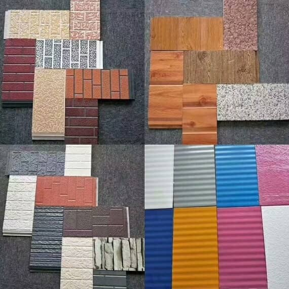 集装箱房别墅外墙金属雕花板颜色款式图