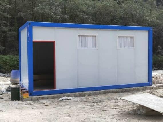 集装箱房厕所图
