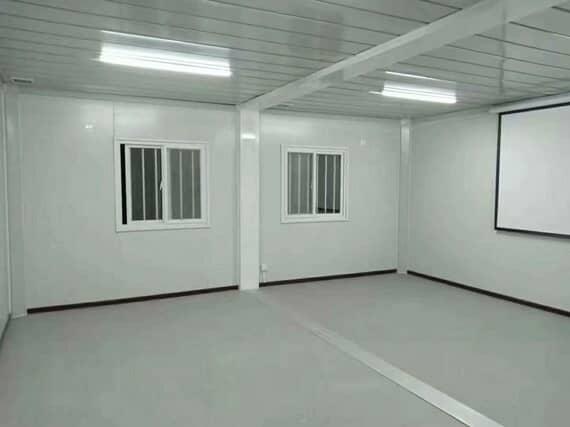 集装箱房电影院室内图