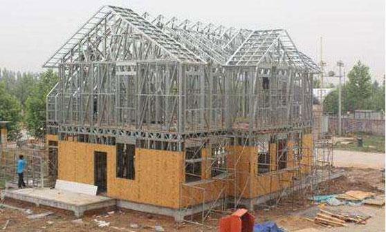 轻钢结构活动房图