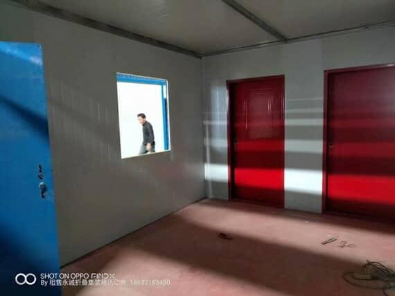 住人集装箱活动板房室内图