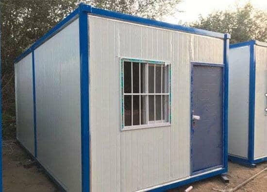 带防盗网的住人式集装箱活动房