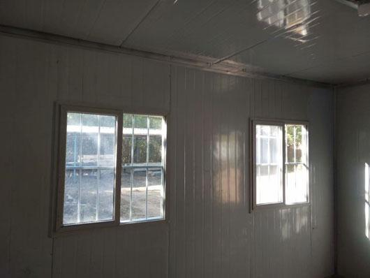 12平方米的集装箱活动房室内图