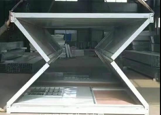 折叠式集装箱活动房图