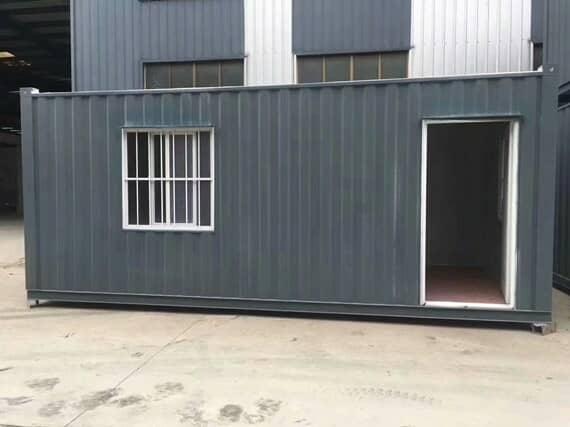 焊接式钢板集装箱活动房图