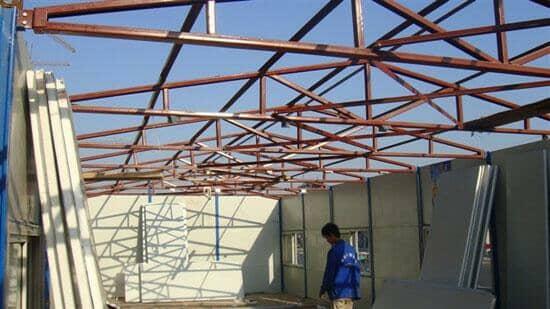 活动板房拆除隔断板图