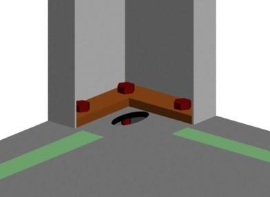 箱房角件与角柱螺栓连接图