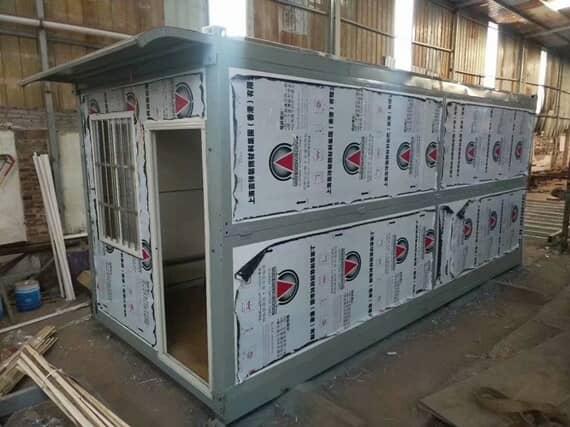 折叠式住人集装箱房图