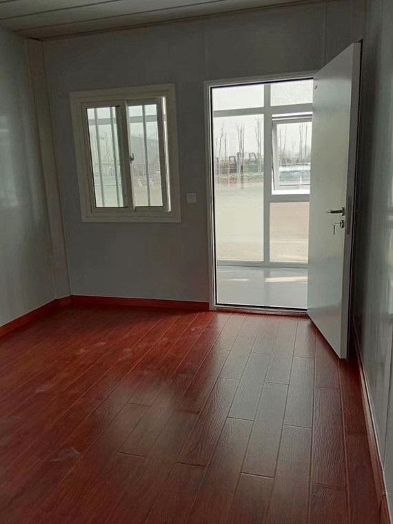集装箱房室内木地板图