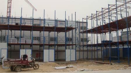 三层活动房结构造型图