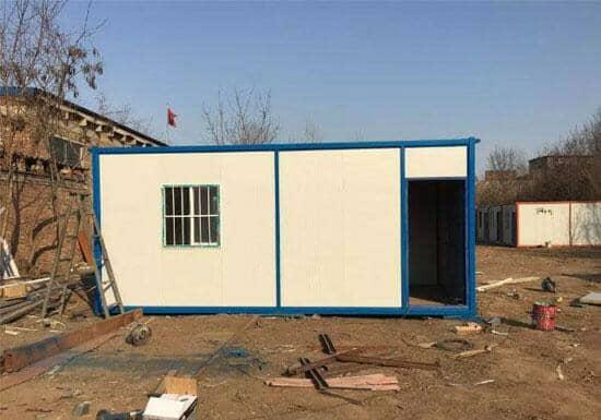 6米面一门一窗的集装箱活动房