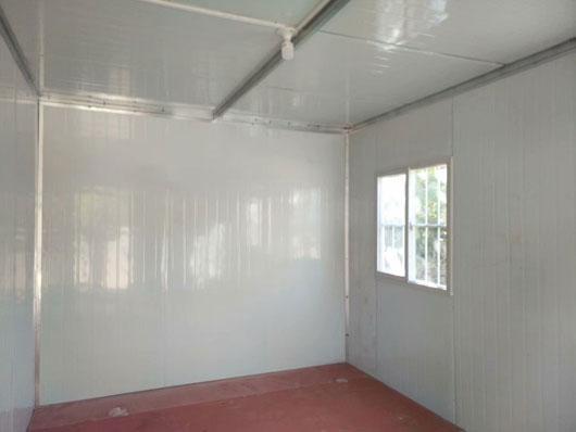 集装箱活动房室内地板效果图