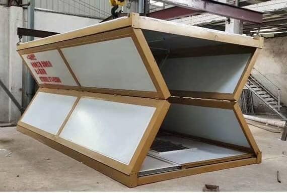 折叠式集装箱房住所图