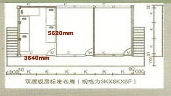 3K×2K(即:纵深5620mm×3640mm)图