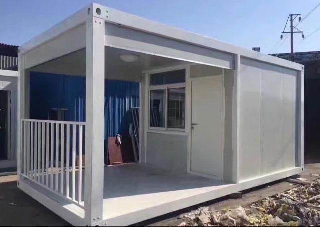 拼装式集装箱活动房房子图