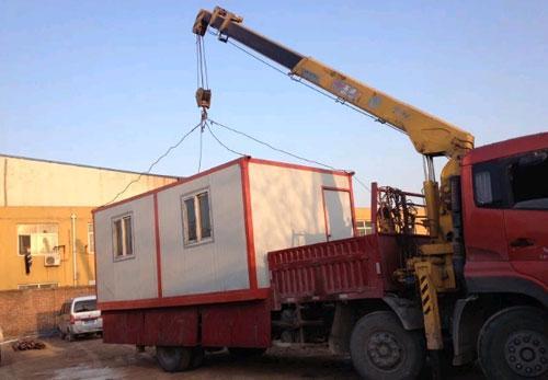 吊装式集装箱活动房图