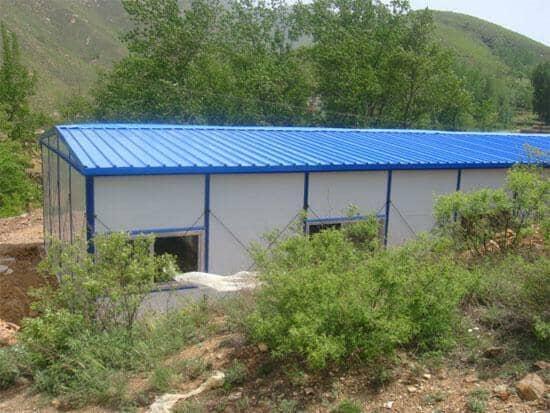 拉萨达孜区拆装式活动板房图
