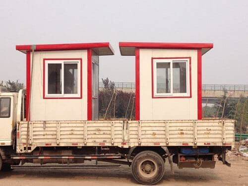 拉萨曲水县小型彩钢活动房图片案例