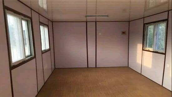 集装箱活动房室内图