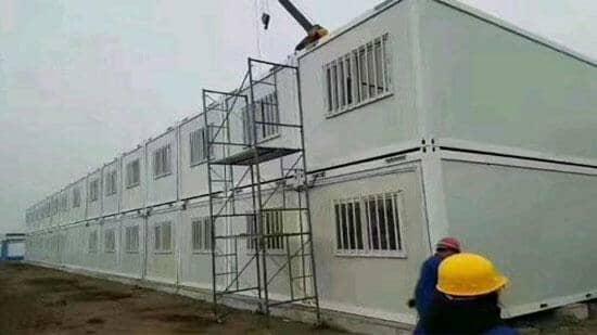 拉萨曲水县拆装式集装箱活动房图