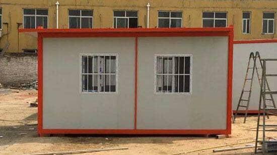 住人集装箱活动房正面图