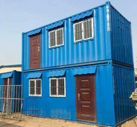 拉萨曲水县钢板集装箱房屋图