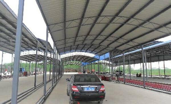 钢结构车棚未来前景很大