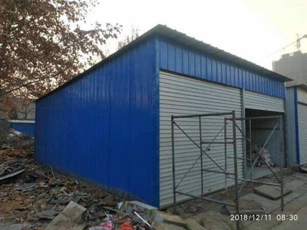彩钢板车库
