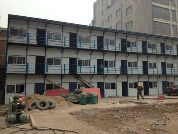 成长期的钢板活动房未来发展空间很大