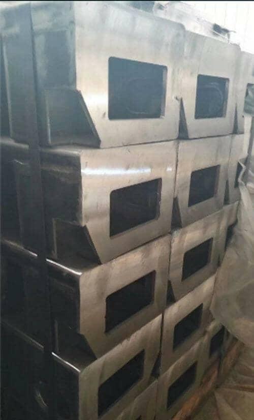 拼装式集装箱活动房钢骨架结构图片效果