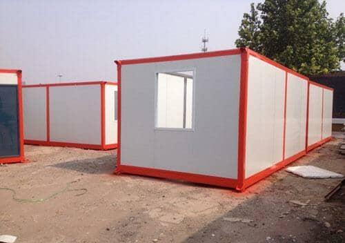 住人集装箱活动房具有多次吊装等特点