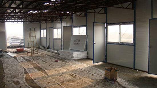 安装拉萨二层雅致活动板房图片案例