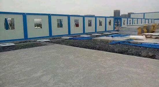 山南扎囊县拆装式集装箱活动房图片效果案例