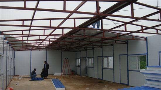 拉萨达孜区拆装式活动板房图片案例