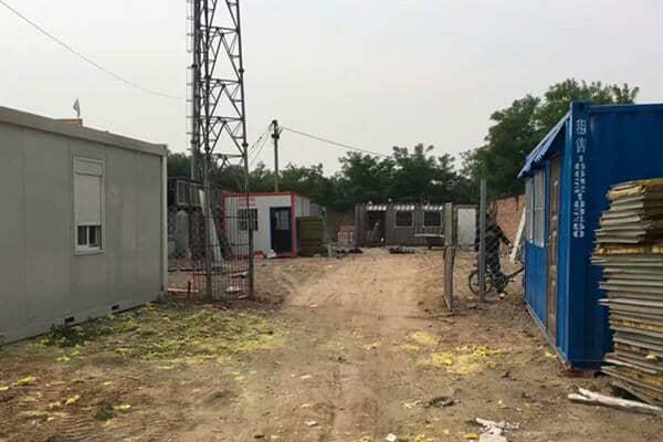 尼日利亚的太阳能发电集装箱房屋