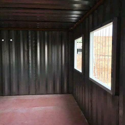 拉萨达孜区瓦楞钢板集装箱活动房图片案例