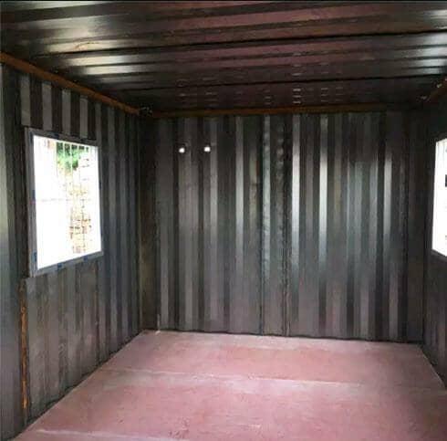 瓦楞钢板集装箱活动房钢板为0.8mm