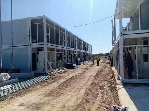 集装箱活动房是征服南极的房屋