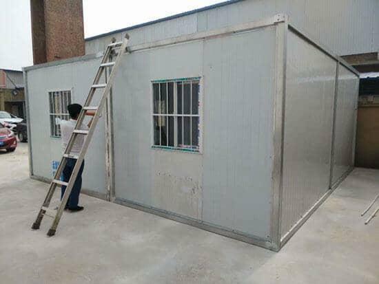 住人集装箱活动房外面效果
