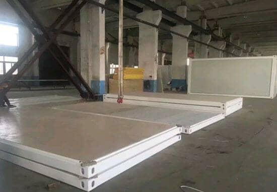 林周县拼装式集装箱活动房底部