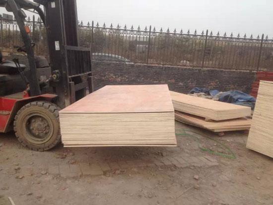 活动房专用木地板-多层14mm厚建筑模板图