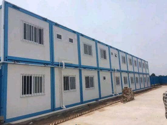 拆装式集装箱活动房全部为中铁标准用材选料