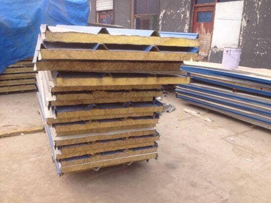防火型蓝色岩棉屋面板
